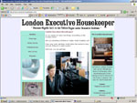 London Executive Housekeeper